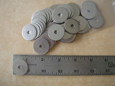 "Stainless Steel FENDER Washers -3/16"" (#10)  x 1"" -  50 CT"