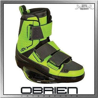 Obrien GTX CT Wakeboard Bindung Boots High End Closed Toe green
