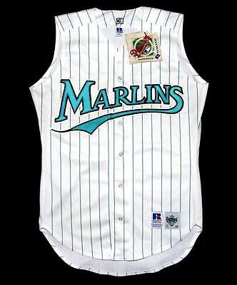 Florida Marlins NEW Russell Athletic Medium MLB Baseball Jersey Shirt Top