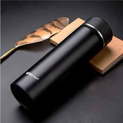 Stainless Steel Travel Mug Tea Water Coffee Bottle Flask Vacuum Thermos Cup Hot