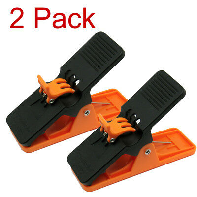 2 PACK Authentic HI-VIZ ORANGE Cigar Minder Clip Holder Saver Klip Golf