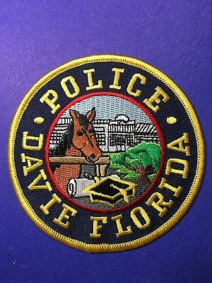 Davie   Florida Police  Shoulder  Patch