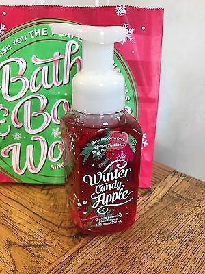 Bath and Body Works WINTER CANDY APPLE Aloe Vit E Hand Soap Wash CHRISTMAS GIFT