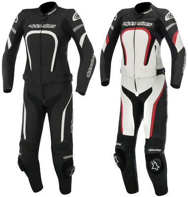 Alpinestars Womens Stella Motegi 2 Piece Leather Suit 2015