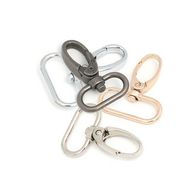 1pc Useful Bag Clasps Lobster Swivel Trigger Clips Snap Hook 4 Colors Durable