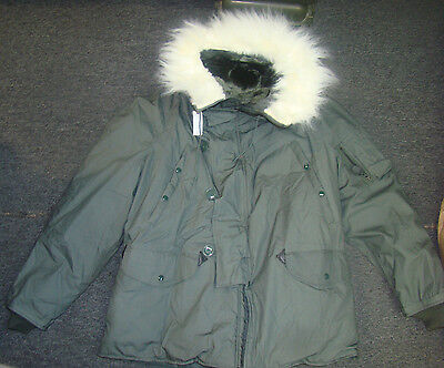 Usaf Extreme Cold Weather Parka Type N-3B Large
