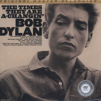 Bob Dylan - The Times They Are A-Changin' (Vinyl 2LP - 1964 - US - Reissue)