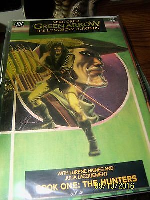 Mike Grell's  Green Arrow: The Long Bow Hunters#1, #2, & #3