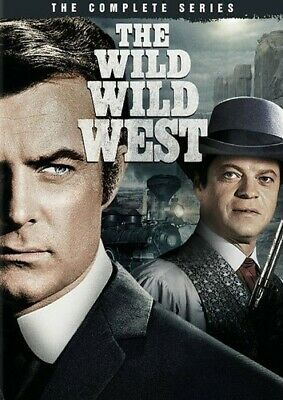 The Wild Wild West: The Complete Series [New DVD] Full Frame, Mono Sound, Slip