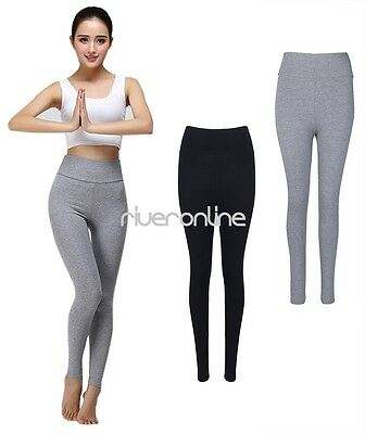 Women Ladies High-waisted Yoga Fitness Tights Sports Pants Trousers Gym Running