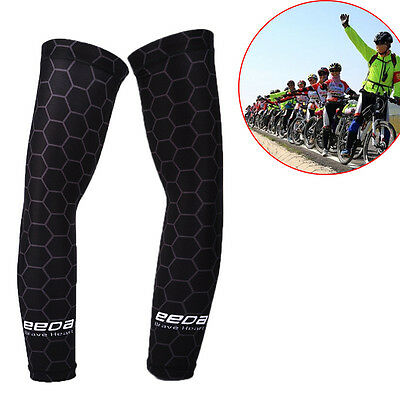 1 pairs Sun UV Cooling Arm Sleeves Cycling Athletics Golf Running Sports Outdoor