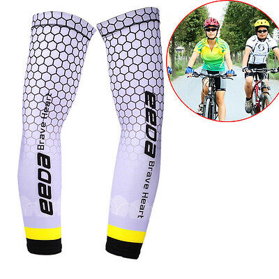 1 pair Sun UV Cooling Arm Sleeves Cycling Athletics Golf Running Sports Outdoor