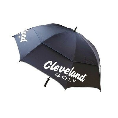 "Cleveland Golf Tour 62"" Umbrella (Black / Blue)"