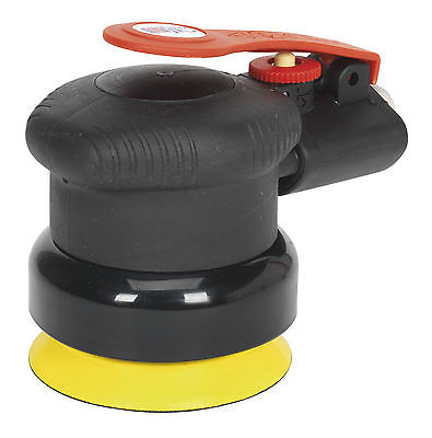 Sealey 75mm Air Pneumatic Palm Reduced Noise Orbital Sander bodyshop Tool SA802