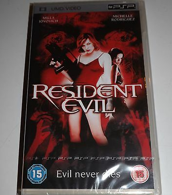UMD VIDEO for PSP New & Sealed Box RESIDENT EVIL 24Hr Post + MANY MORE TITLES
