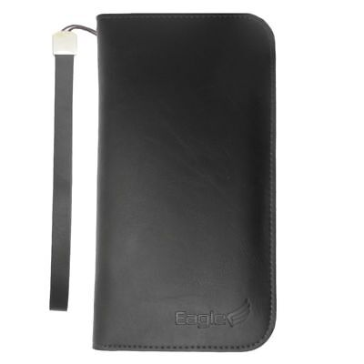 Universal Leather Wallet Credit Card Holder Flip Case Cover For Mobile Phone