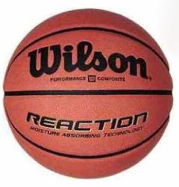 Wilson Reaction Basketball Size 5 - Outdoor Team Match Game Competition