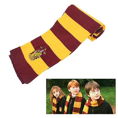 UK Harry Potter winter Scarf Gryffindor fancy dress accessories gift cosplay