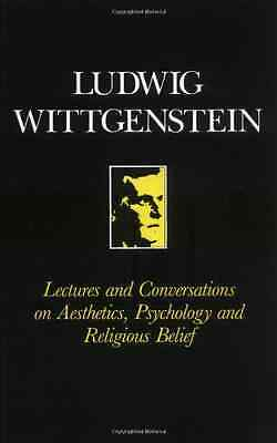 Lectures and Conversations on Aesthetics, Psychology, R - Paperback NEW Wittgens