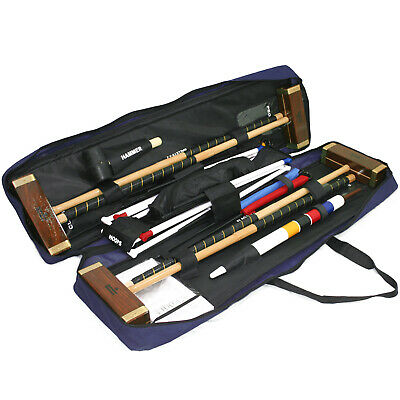 Challenger full size croquet set in a toolkit bag competition style croquet set