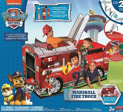 Playhut Paw Patrol Marshall Fire Truck Play Tent