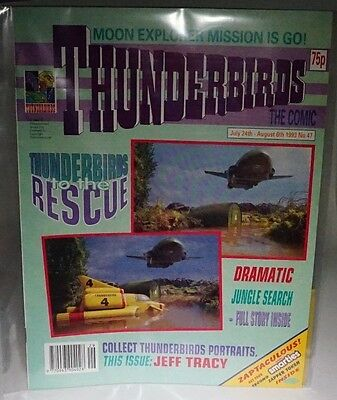 Thunderbirds - The Comic. No 47. July 24th - August 6th 1993. ITC.