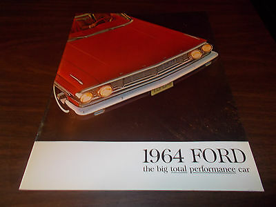 1964 Ford Galaxie Deluxe 24-Page Color Sales Catalog