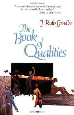 The Book of Qualities - Paperback NEW Gendler, R. 1988-07-12