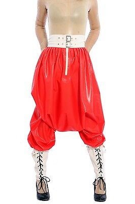 590 Latex Gummi Rubber Pants trousers riding breeches loose customized 0.4mm
