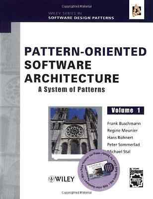 Pattern-Oriented Software Architecture Volume 1: A Syst - Hardcover NEW Buschman