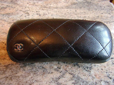 Chanel  Quilted  Sunglasses Glasses Protective Case Box Genuine
