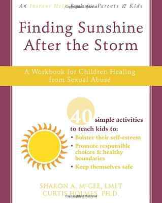 Finding Sunshine After the Storm: A Workbook for Childr - Paperback NEW McGee, S
