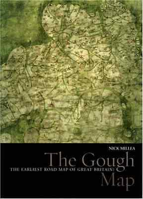 The Gough Map: The Earliest Road Map of Great Britain ( - Hardcover NEW Millea,