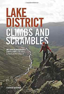 Lake District Climbs and Scrambles: Mountaineering Days - Paperback NEW Goodwin,