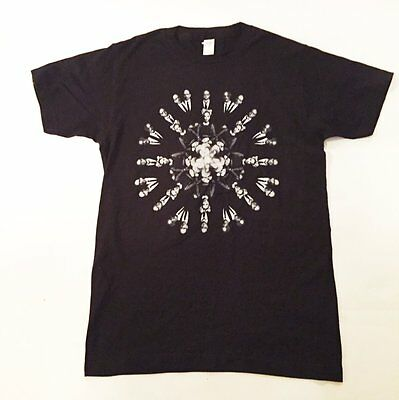 Vintage Never Used Rare Black GARBAGE T-Shirt MUSIC Shirley MANSON Sz Small S