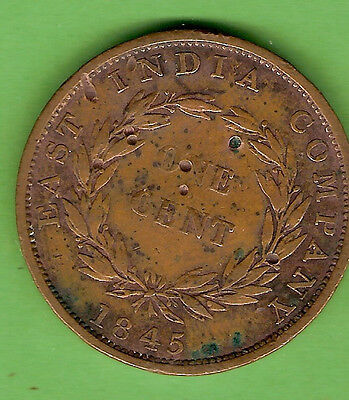 1845  British East India Company   Coin