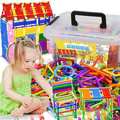 250/500pc Mathematical Intelligence Stick Figures Box Preschool Educational Toys