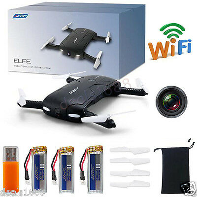 JJRC H37 6-Axis ELFIE WIFI RC Quadcopter 0.3MP Camera Foldable Selfie Drone Gift