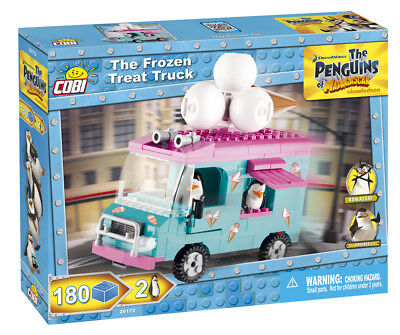 Cobi 26172 - The Penguins Of Madagascar - Ice Cream Truck - Neu