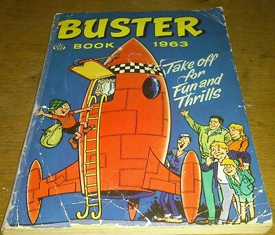 Buster Annual, 1963, Fair.