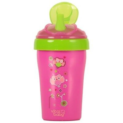 Vital Baby Toddler Straw Cup 15m+ (Pink) (2578)