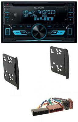 Kenwood 2DIN USB AUX MP3 CD Autoradio für Ford Cougar Fiesta Focus Galaxy Mondeo