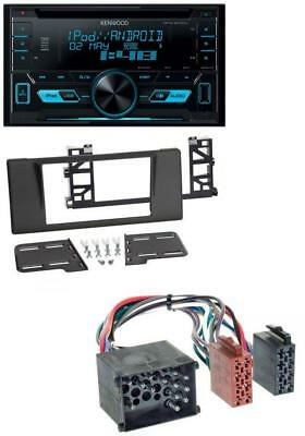 Kenwood 2DIN USB AUX MP3 CD Autoradio für BMW 5er (E39) X5 Rundpin