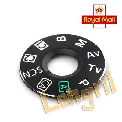 Interface Cap Replacement Part For Canon EOS 6D Digital Camera Dial Mode Plate