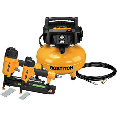 Bostitch 2-Piece Nailer and Compressor Combo Kit BTFP2KIT New