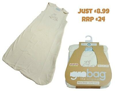 Growbag Baby Sleeping Bag Girls Lightweight Sleep Safety RRP £25 Cotton