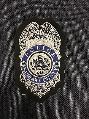 Fairfax County Virginia Police Shoulder Patch Old