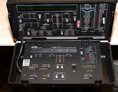 TTC T-Berd 310 Network Tester Communications Analyzer Options 1-2-3-5-S Loaded!!