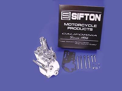 Polished Oil Pump Assembly,for Harley Davidson motorcycles, by Sifton
