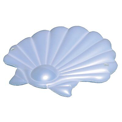 Swimline Giant Inflatable SeaShell Island Lounger Ride-On Pool Float | 90542